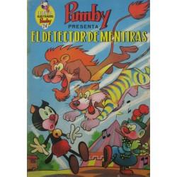 """LIBROS ILUSTRADOS PUMBY Núm 24. """"EL DETECTOR DE MENTIRAS"""""""