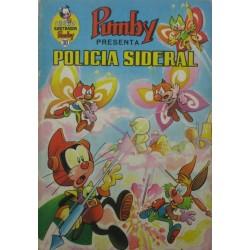 """LIBROS ILUSTRADOS PUMBY Núm 30. """"POLICÍA SIDERAL"""""""