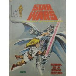 """STAR WARS La Guerra de las Galaxias Núm. 2 ."""" SOMBRA DE UN SEÑOR OSCURO"""""""