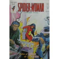 """SPIDER-WOMAN VOL 1 Núm 12 """"ENTRA EL HOMBRE DE LOS JUEGOS"""""""