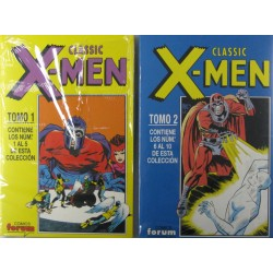 CLASSIC X-MEN.COLECCION COMPLETA.TOMOS I Y 2.