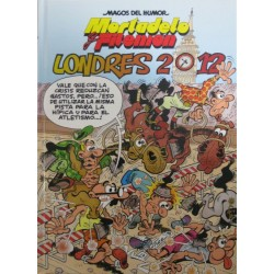 "MORTADELO Y FILEMÓN ""LONDRES 2012"" Núm 151"