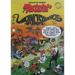 "MORTADELO Y FILEMÓN ""DINOSAURIOS"""