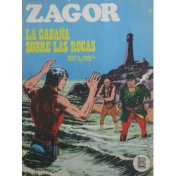 ZAGOR Num 25: LA CABAÑA SOBRE LAS ROCAS