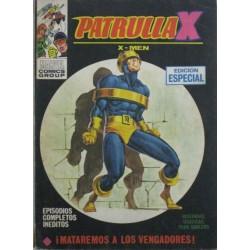 PATRULLA X Núm 30: EL RETORNO DEL PROFESOR-X