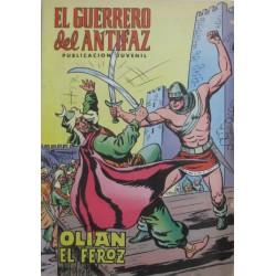 """EL GUERRERO DEL ANTIFAZ Núm 5  """"OLIAZ EL FEROZ"""""""