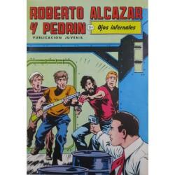 """ROBERTO ALCAZAR Y PEDRÍN  NÚM. 220. """" OJOS INFERNALES""""."""