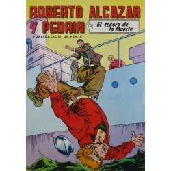 """ROBERTO ALCAZAR Y PEDRÍN  Núm. 221. """" EL TESORO DE LA MUERTE""""."""