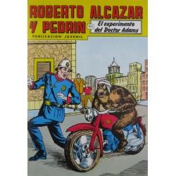 """ROBERTO ALCAZAR Y PEDRÍN  Núm. 232. """" EL EXPERIMENTO DEL DOCTOR ADAMS""""."""