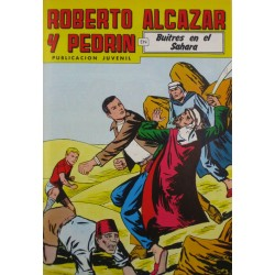 """ROBERTO ALCAZAR Y PEDRÍN  Núm. 237. """" BUITRES EN EL SAHARA""""."""