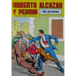 """ROBERTO ALCAZAR Y PEDRÍN  Núm. 238. """" REO DE TRAICIÓN""""."""