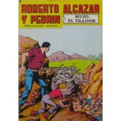 """ROBERTO ALCAZAR Y PEDRÍN  Núm. 169. """"MUZO, EL TRAIDOR""""."""