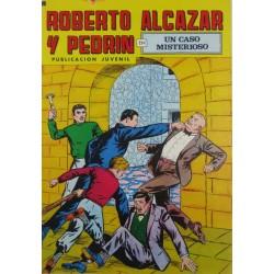 """ROBERTO ALCAZAR Y PEDRÍN  Núm. 177. """" UN CASO MISTERIOSO""""."""