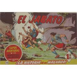 """EL JABATO Núm 136 """"¡LA HISTORIA DE UN MALVADO!"""""""