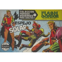 "FLASH GORDON. Núm 58 ""Espejo solar"""