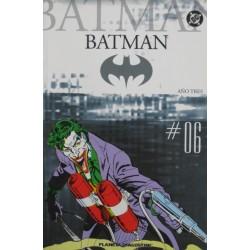 "BATMAN COLECCIONABLE Núm 6 ""AÑO TRES"""