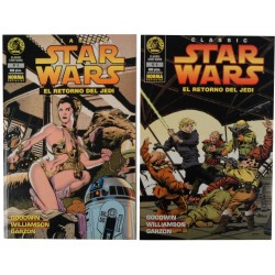 STAR WARS EL RETORNO DEL JEDI NÚM. 5 Y 6.