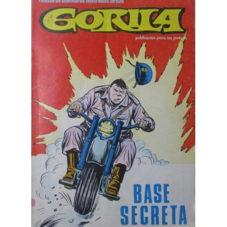 "GORILA. Núm. 7."" Base secreta"""