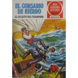 """EL CORSARIO DE HIERRO NÚM.8 """" EL SECRETO DEL PERGAMINO"""""""