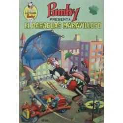 """LIBROS ILUSTRADOS PUMBY Núm 17. """"EL PARAGUAS MARAVILLOSO"""""""
