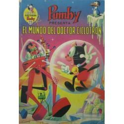 """LIBROS ILUSTRADOS PUMBY Núm 23. """"EL MUNDO DEL DOCTOR CICLOTRON"""""""