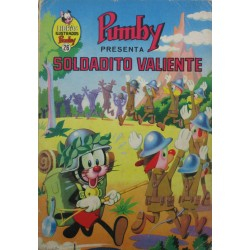 """LIBROS ILUSTRADOS PUMBY Núm 26. """"SOLDADITO VALIENTE"""""""