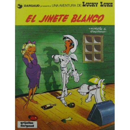"""LUCKY LUKE Núm 2 """"El jinete blanco"""""""