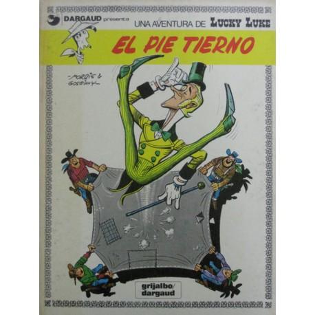 "LUCKY LUKE Núm 4 ""El pie tierno"""