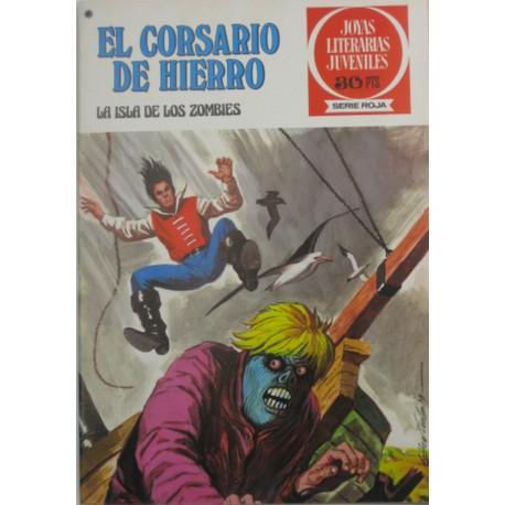 """EL CORSARIO DE HIERRO Núm.35 """" LA ISLA DE LOS ZOMBIES"""""""