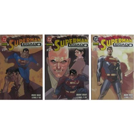 SUPERMAN LEGADO. COMPLETA