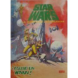 """STAR WARS La Guerra de las Galaxias Núm. 4 ."""" ¡ ASEDIO EN YAVIN!"""""""