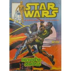 """STAR WARS La Guerra de las Galaxias Núm. 6 .""""  ENCUENTRO SOMBRÍO"""""""