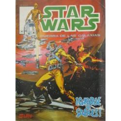 "STAR WARS La Guerra de las Galaxias Núm. 8 .""  ¡CHOQUE DE SABLES!"""