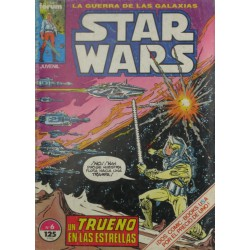 """STAR WARS La Guerra de las Galaxias. Núm. 6 """"UN TRUENO EN LAS ESTRELLAS""""."""