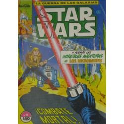 "STAR WARS La Guerra de las Galaxias. Núm . 9 "" ¡ COMBATE MORTAL ! """