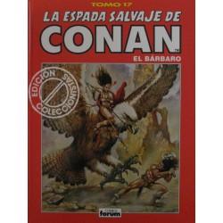 LA ESPADA SALVAJE DE CONAN. EDICIÓN COLECCIONISTA. Núm 17