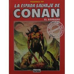 LA ESPADA SALVAJE DE CONAN. EDICIÓN COLECCIONISTA. Núm 19