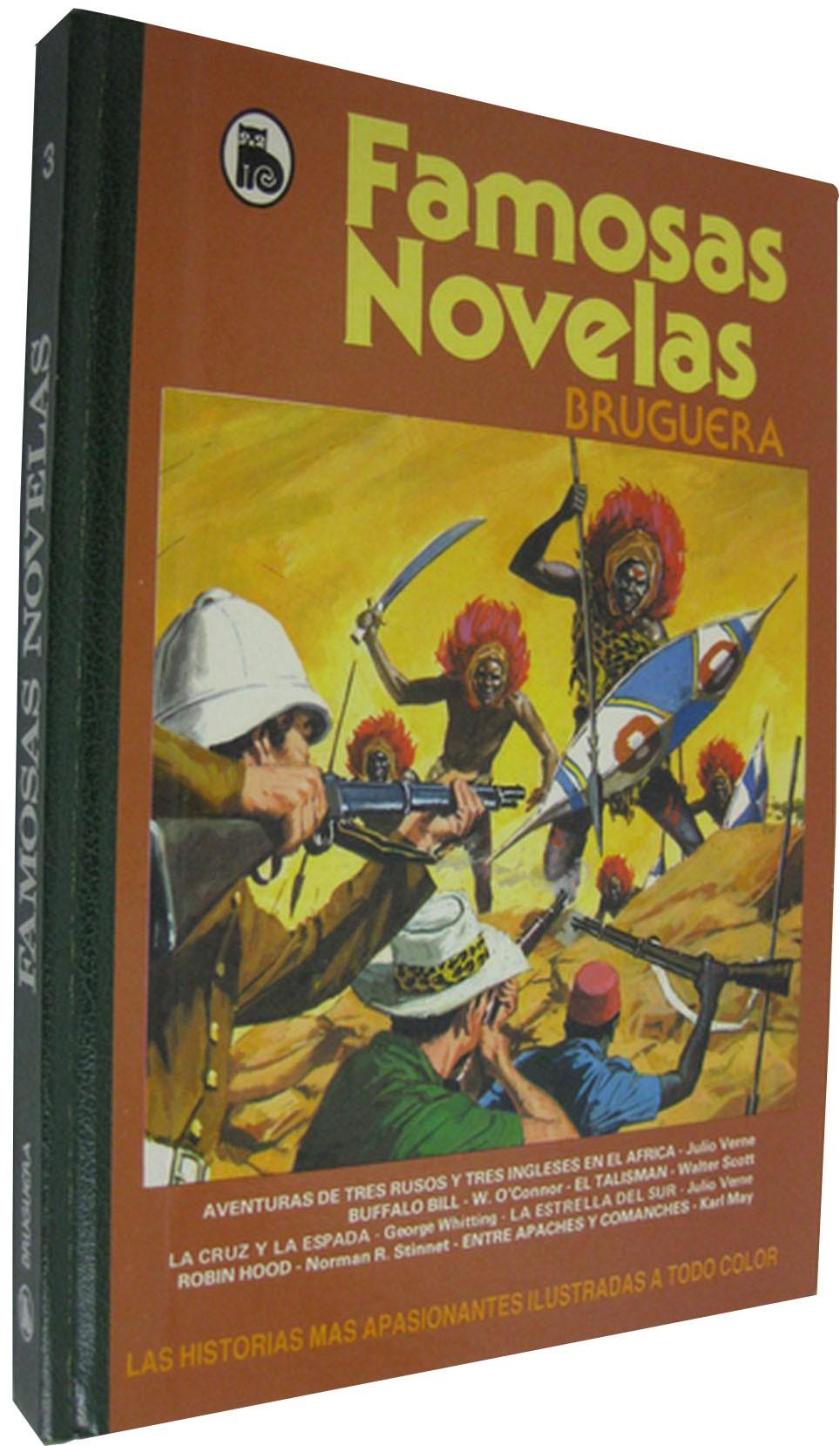 63ae78262 FAMOSAS NOVELAS. BRUGUERA