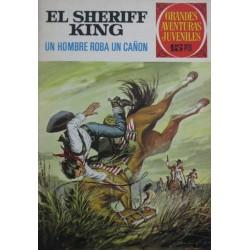 EL SHERIFF KING Núm 34 : UN HOMBRE ROBA UN CAÑÓN