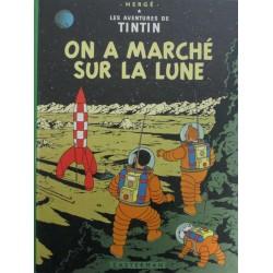 LES AVENTURES DE TINTIN: ON A MARCHÉ SUR LA LUNE