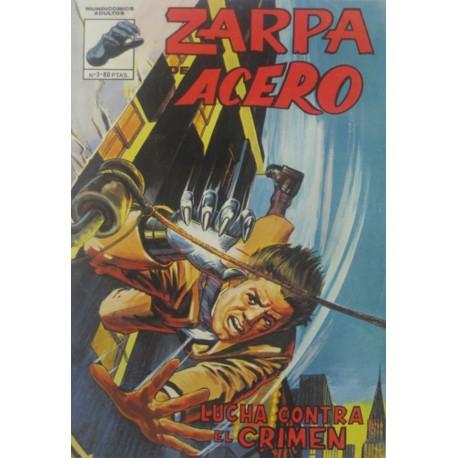 "ZARPA DE ACERO Núm. 3 "" LUCHA CONTRA EL CRIMEN"""