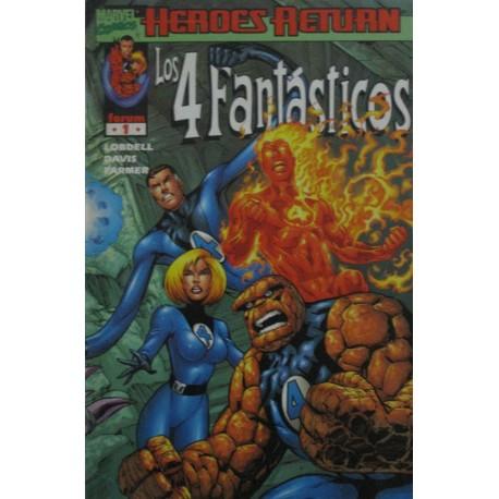 LOS 4 FANTÁSTICOS VOL III. Núm 1