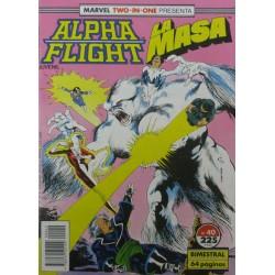 ALPHA FLIGHT/ LA MASA Núm 40