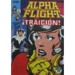 "ALPHA FLIGHT Núm 6 ""¡TRAICIÓN!"""