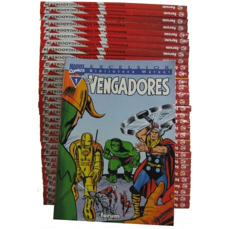 LOTE LOS VENGADORES. BIBILIOTECA MARVEL EXCELSIOR.