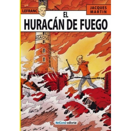LEFRANC Núm 2: EL HURACÁN DE FUEGO