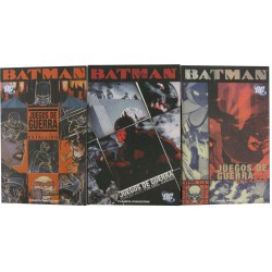 BATMAN: JUEGOS DE GUERRA. COMPLETA