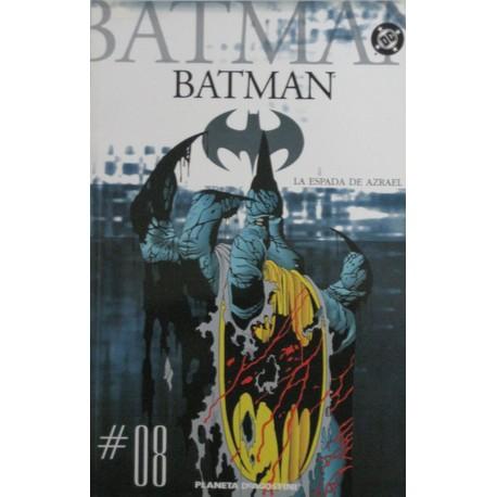 """BATMAN COLECCIONABLE Núm 8 """"LA ESPADA DE AZRAEL"""""""