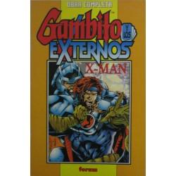 GAMBITO Y LOS EXTERNOS/ X-MAN RETAPADO