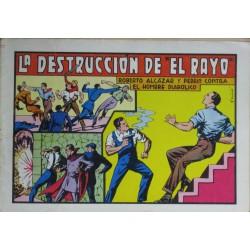 """ROBERTO ALCÁZAR Y PEDRÍN Núm 52: LA DESTRUCCIÓN DE """"EL RAYO"""""""